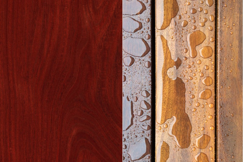 TROPICAL HARDWOOD: JARRAH AND CUMARU DECKING