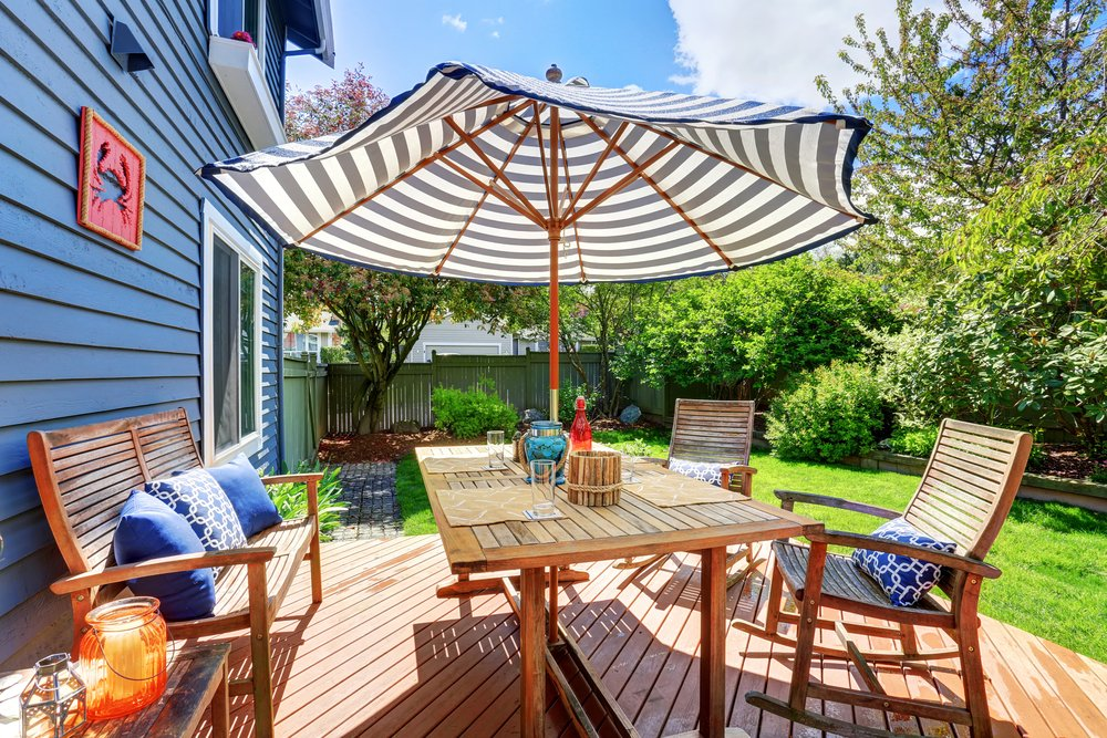 Benefits of Using Umbrellas as Shade for Decks